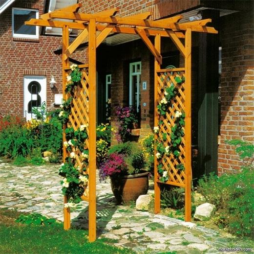 Разборная садовая арка